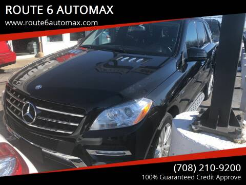 2012 Mercedes-Benz M-Class for sale at ROUTE 6 AUTOMAX in Markham IL