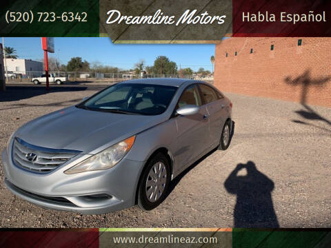 2012 Hyundai Sonata for sale at Dreamline Motors in Coolidge AZ