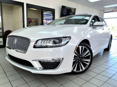 2018 Lincoln MKZ for sale at SAINT CHARLES MOTORCARS in Saint Charles IL