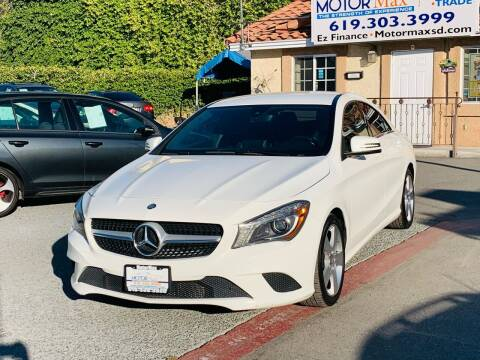 2015 Mercedes-Benz CLA for sale at MotorMax in Lemon Grove CA