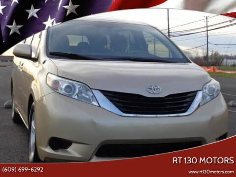 2011 Toyota Sienna for sale at RT 130 Motors in Burlington NJ