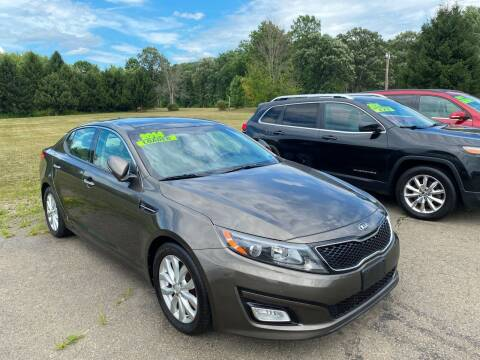 2014 Kia Optima for sale at Hillside Motors in Campbell NY