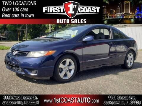 2007 Honda Civic for sale at 1st Coast Auto -Cassat Avenue in Jacksonville FL