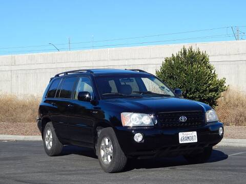 2003 Toyota Highlander for sale at Crow`s Auto Sales in San Jose CA
