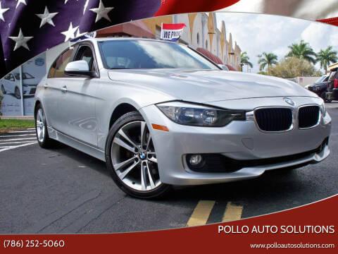 2013 BMW 3 Series for sale at POLLO AUTO SOLUTIONS in Miami FL