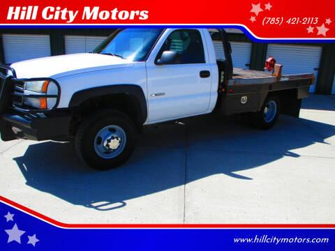 2005 Chevrolet Silverado 3500 for sale at Hill City Motors in Hill City KS
