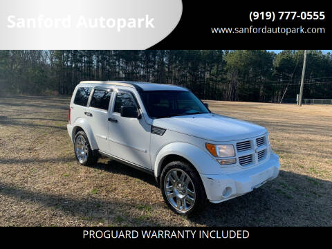 2011 Dodge Nitro for sale at Sanford Autopark in Sanford NC