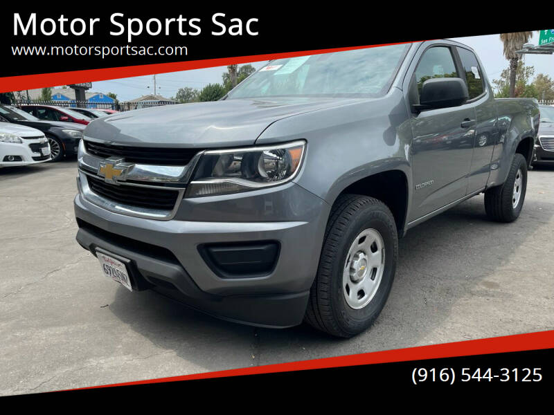 2018 Chevrolet Colorado for sale at Motor Sports Sac in Sacramento CA