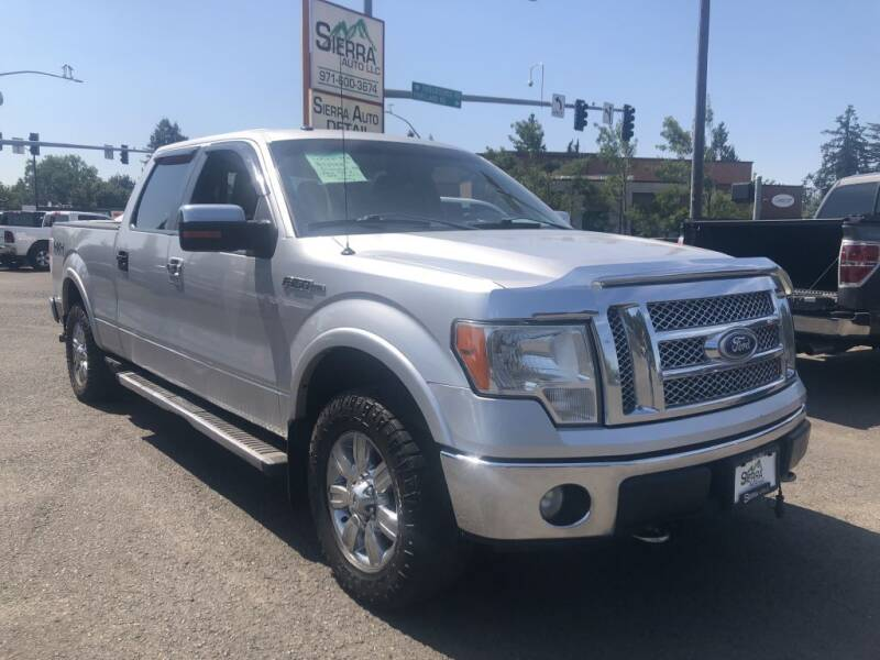 2010 Ford F-150 for sale at SIERRA AUTO LLC in Salem OR