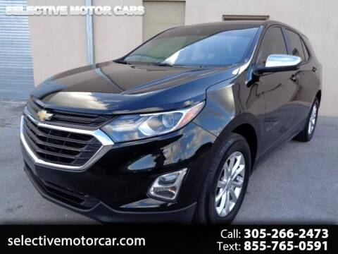 2020 Chevrolet Equinox for sale at Selective Motor Cars in Miami FL