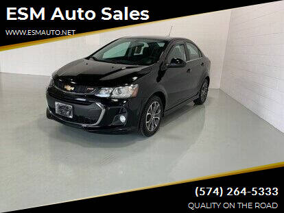 2017 Chevrolet Sonic for sale at ESM Auto Sales in Elkhart IN