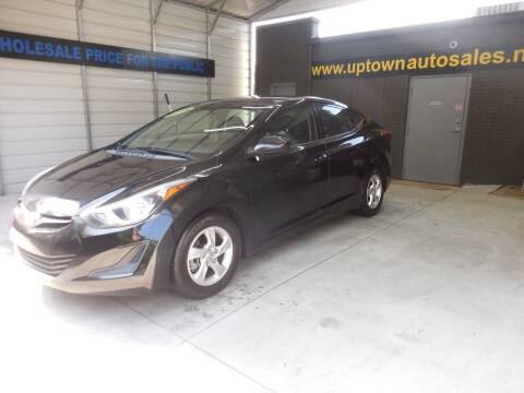 2015 Hyundai Elantra for sale at Uptown Auto Sales in Charlotte NC