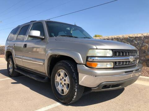 2003 Chevrolet Tahoe for sale at Eastside Auto Sales in El Paso TX