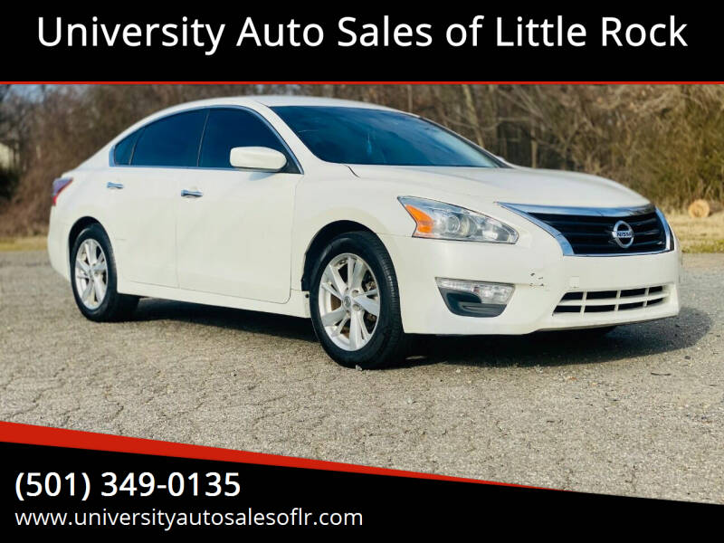 2013 Nissan Altima for sale at University Auto Sales of Little Rock in Little Rock AR