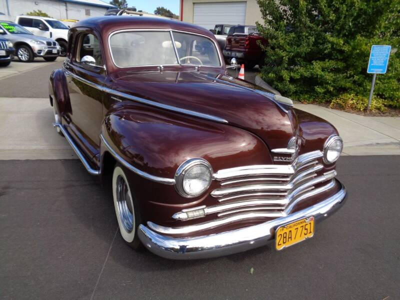 1949 Plymouth Business Coupe for sale at NorCal Auto Mart in Vacaville CA