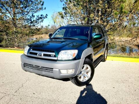 2003 Toyota 4Runner for sale at Excalibur Auto Sales in Palatine IL