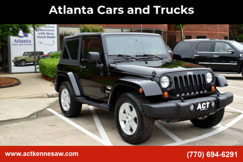 2007 Jeep Wrangler for sale at Atlanta Cars and Trucks in Kennesaw GA