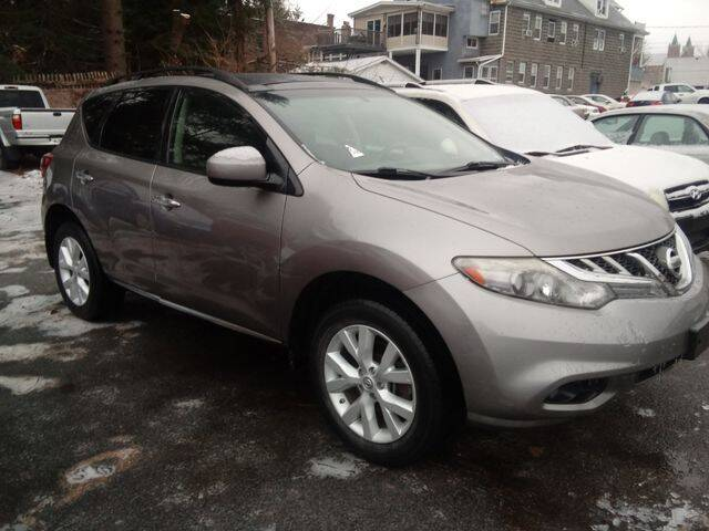 2012 Nissan Murano for sale at CASTLE AUTO AUCTION INC. in Scranton PA