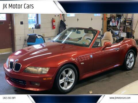 2000 BMW Z3 for sale at JK Motor Cars in Pittsburgh PA