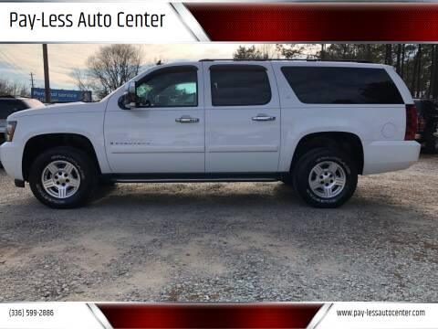 2007 Chevrolet Suburban for sale at Pay-Less Auto Center in Roxboro NC