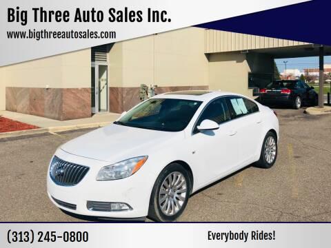 2011 Buick Regal for sale at Big Three Auto Sales Inc. in Detroit MI