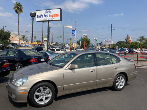 2001 Lexus GS 300 for sale at Pacific West Imports in Los Angeles CA