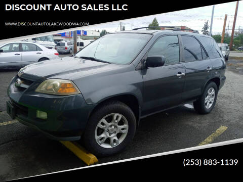 2006 Acura MDX for sale at DISCOUNT AUTO SALES LLC in Spanaway WA
