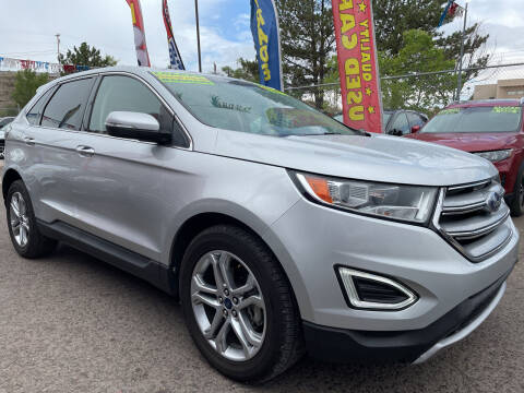 2017 Ford Edge for sale at Duke City Auto LLC in Gallup NM
