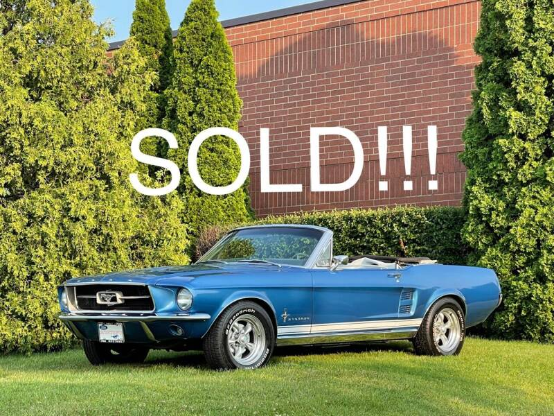 1967 Ford Mustang for sale at Classic Auto Haus in Geneva IL