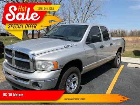 2004 Dodge Ram Pickup 1500 for sale at US 30 Motors in Merrillville IN