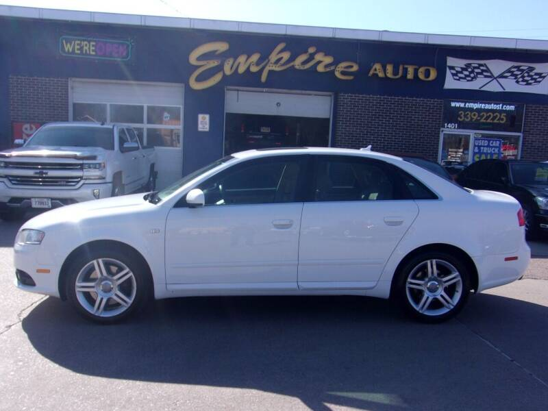 2008 Audi A4 for sale at Empire Auto Sales in Sioux Falls SD