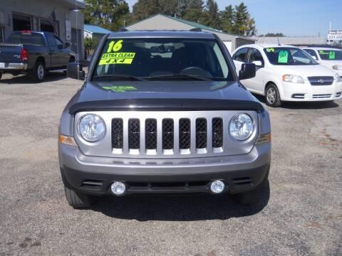 2016 Jeep Patriot for sale at Shaw Motor Sales in Kalkaska MI