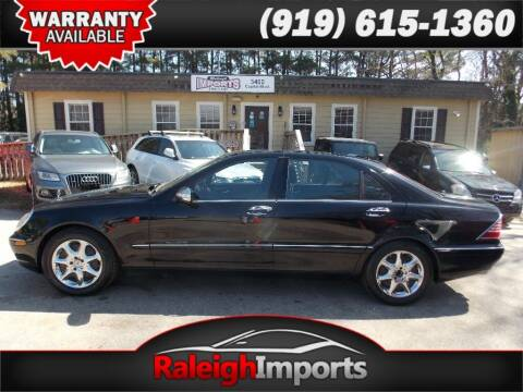 2006 Mercedes-Benz S-Class for sale at Raleigh Imports in Raleigh NC