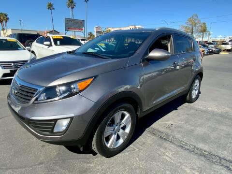 2013 Kia Sportage for sale at Charlie Cheap Car in Las Vegas NV