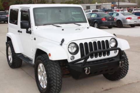 2015 Jeep Wrangler for sale at Sandusky Auto Sales in Sandusky MI