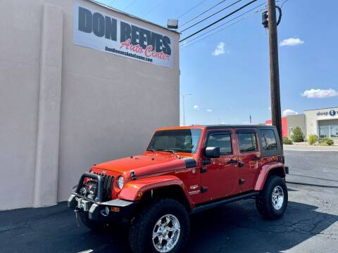 2009 Jeep Wrangler Unlimited for sale at Don Reeves Auto Center in Farmington NM