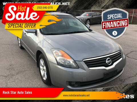 2009 Nissan Altima for sale at Rock Star Auto Sales in Las Vegas NV