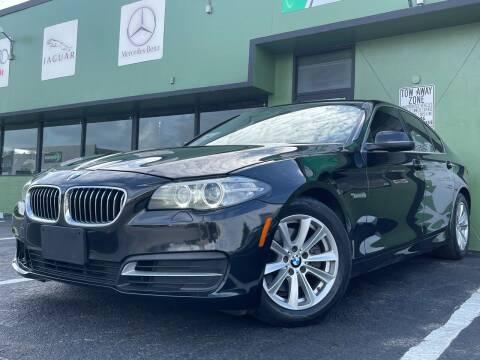 2014 BMW 5 Series for sale at KARZILLA MOTORS in Oakland Park FL