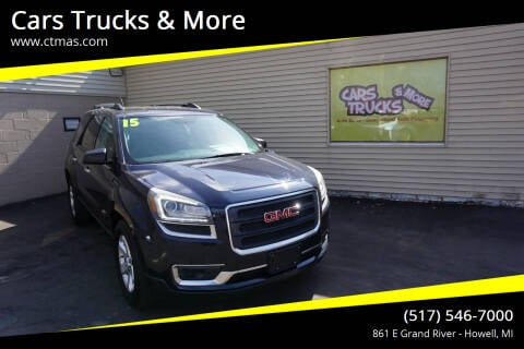 2015 GMC Acadia for sale at Cars Trucks & More in Howell MI