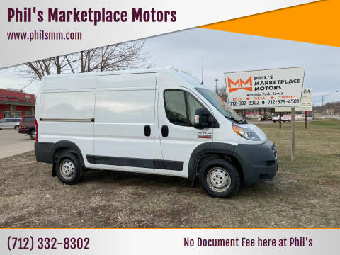 2015 RAM ProMaster Cargo for sale at Phil's Marketplace Motors in Arnolds Park IA