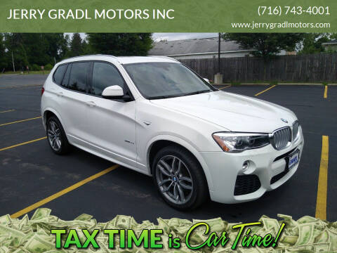 2017 BMW X3 for sale at JERRY GRADL MOTORS INC in North Tonawanda NY