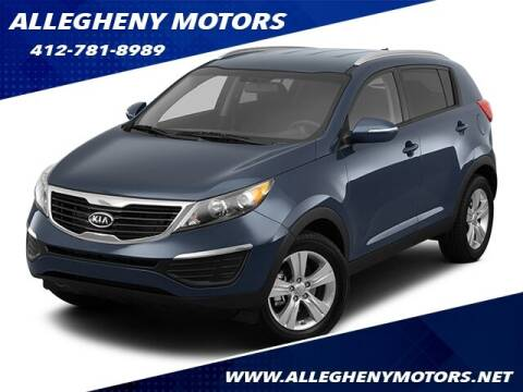2012 Kia Sportage for sale at Allegheny Motors in Pittsburgh PA