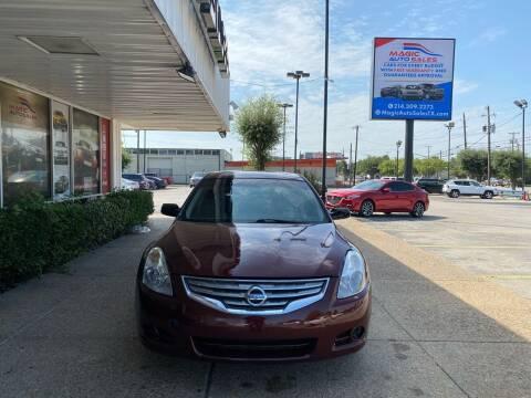 2012 Nissan Altima for sale at Magic Auto Sales - Cars for Cash in Dallas TX