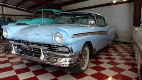 1957 Ford Fairlane 500 for sale at Classic Car Deals in Cadillac MI