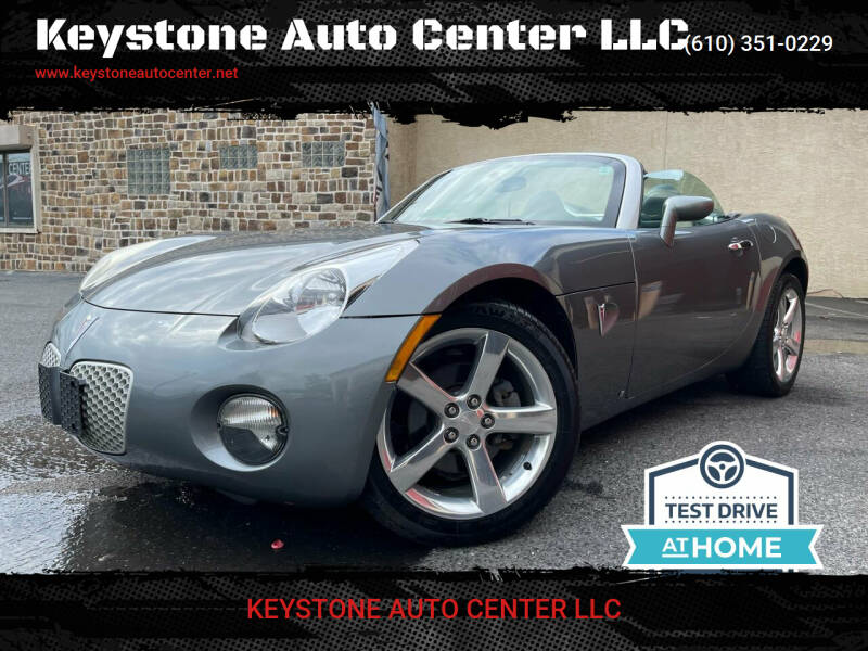 2006 Pontiac Solstice for sale in Allentown, PA