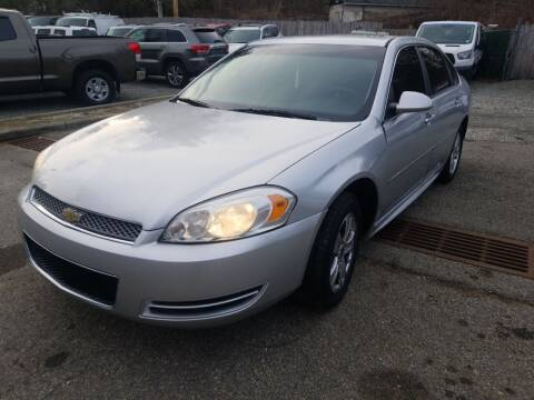 2013 Chevrolet Impala for sale at AMA Auto Sales LLC in Ringwood NJ