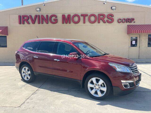 2016 Chevrolet Traverse for sale at Irving Motors Corp in San Antonio TX