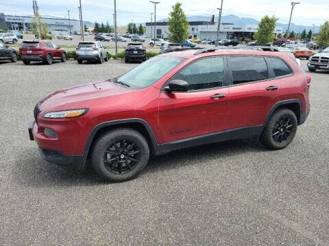 2017 Jeep Cherokee for sale at Karmart in Burlington WA