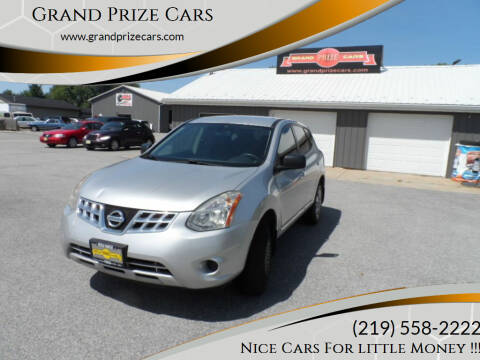 2012 Nissan Rogue for sale at Grand Prize Cars in Cedar Lake IN