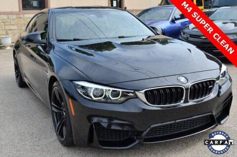 2018 BMW M4 for sale at LAKESIDE MOTORS, INC. in Sachse TX